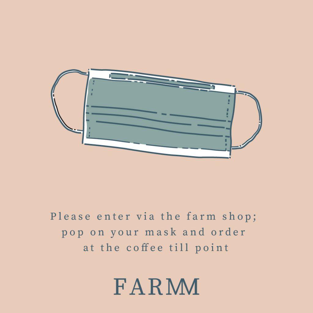 Social media post designed for farm shop